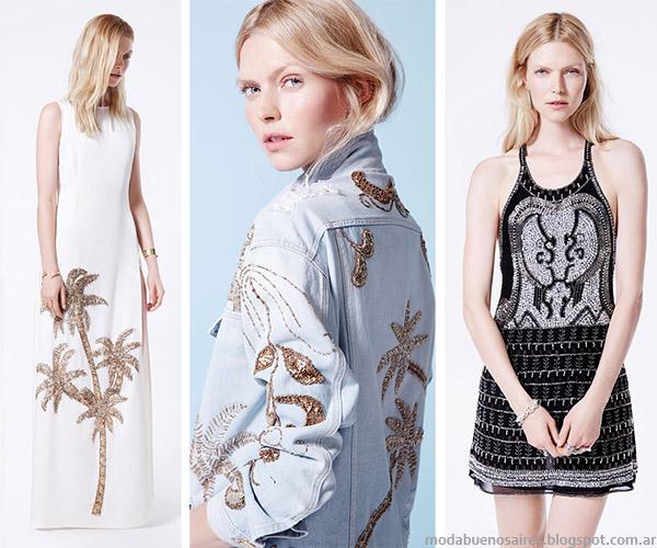 Moda primavera verano 2015 Ginebra colección.