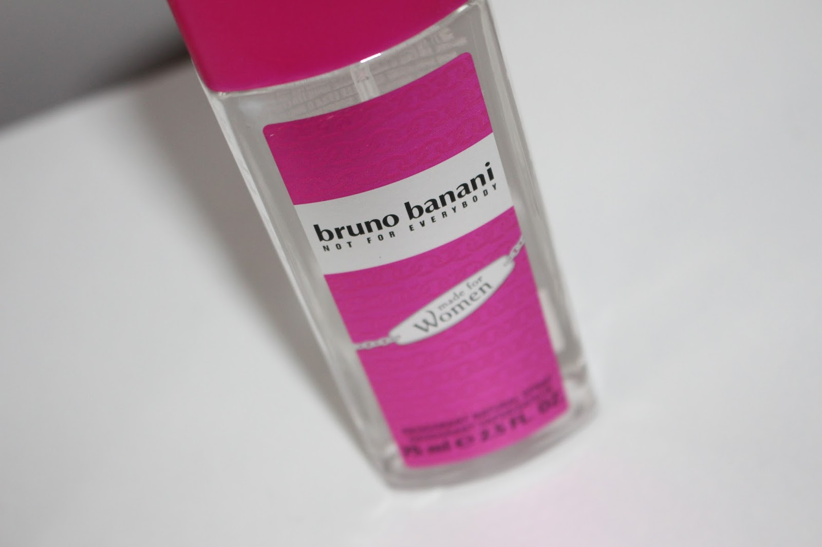 BRUNO BANANI MADE FOR WOMEN DEZODORANT Z ATOMIZEREM DLA ...