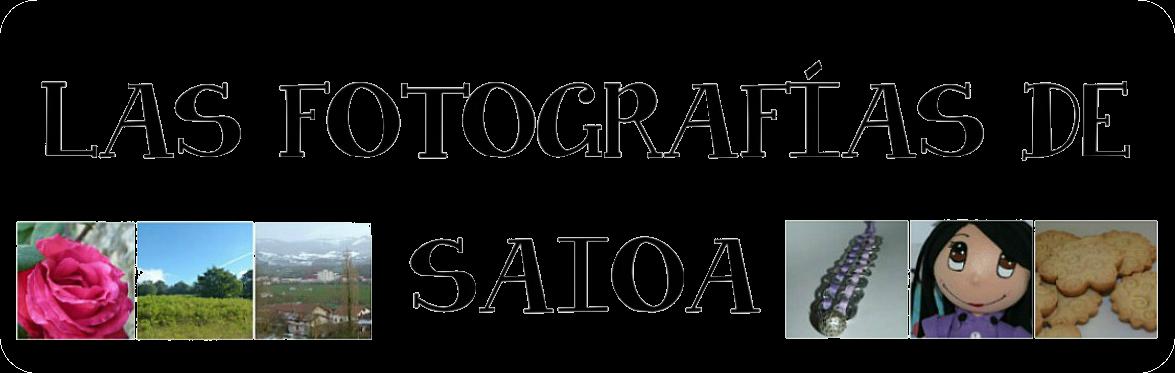 Fotografías de Saioa