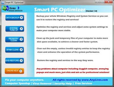 aplicativo portável,usb, pendrive, otimizar pc, acelerar pc, limpar registro,limpar arquivos temporários