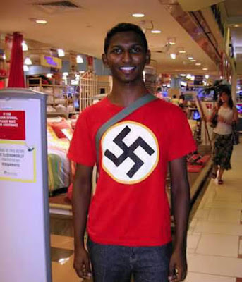 funny pictures: Nazi nigger