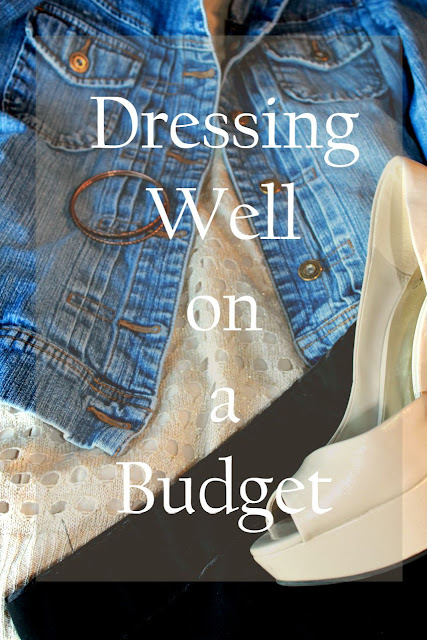 dressing well on a budget