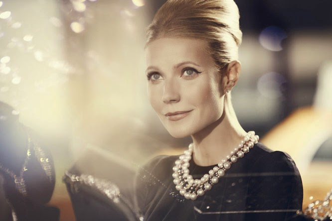 Gwyneth Paltrow as Audrey Hepburn for Max Factor