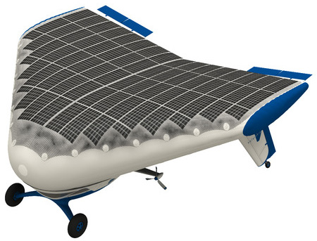 Solar Air Ship, Solar Air Ship, intercontinental travel