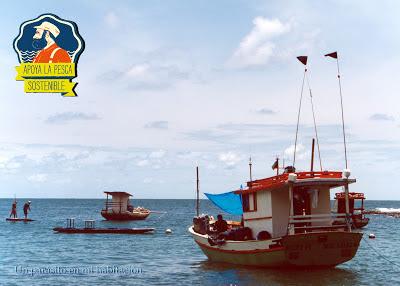 mar, barcos, logo