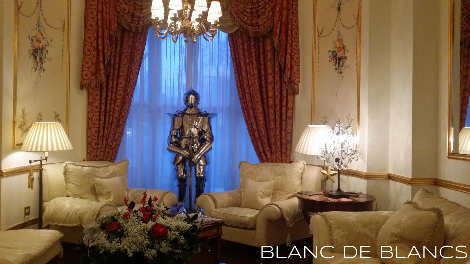 The Colonnade Hotel, London - www.blancdeblancs.fi