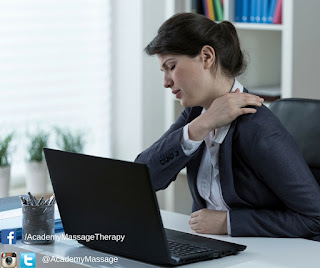 Shoulder Pain from Desk Work - Academy Massage Therapy - Massage Therapist Winnipeg