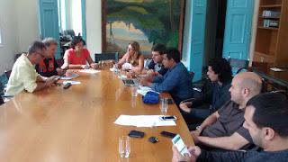 Secretários da equipe do prefeito Márcio Catão instalam Centro de Comando e Controle: Teresópolis está em estado de alerta por conta da chuva