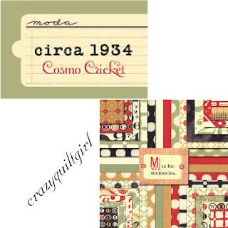 Moda CIRCA 1934 Quilt Fabric by Cosmo Cricket