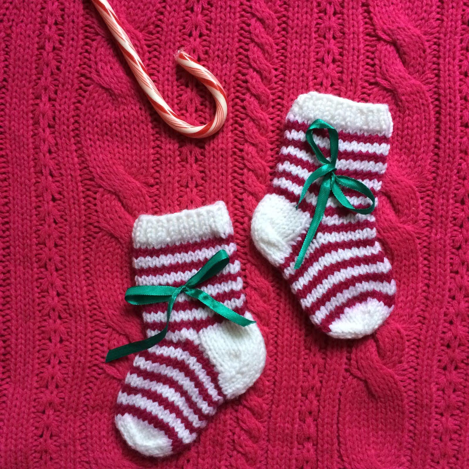 Новогодние носочки для малыша