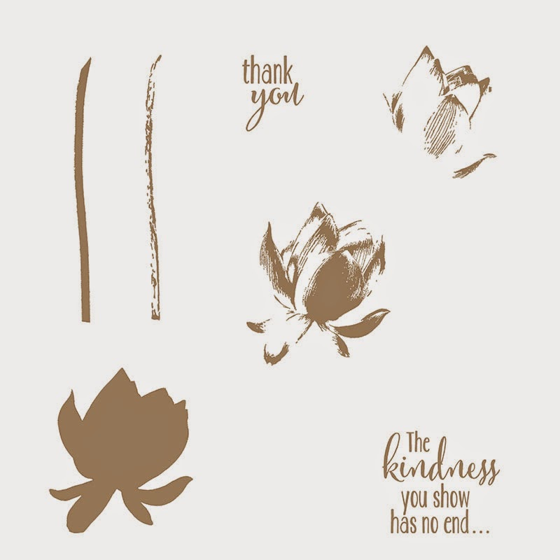 Lotus Blossom, Stampin' Up!