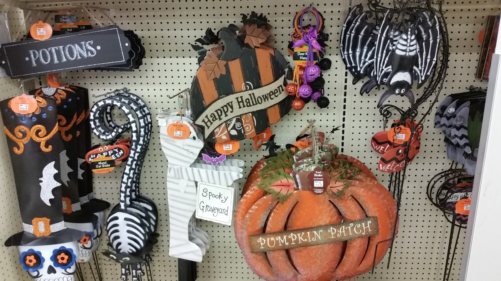 After A Bust At JoAnnes I Was Shocked To Find The Beginnings Of Halloween Big Lots