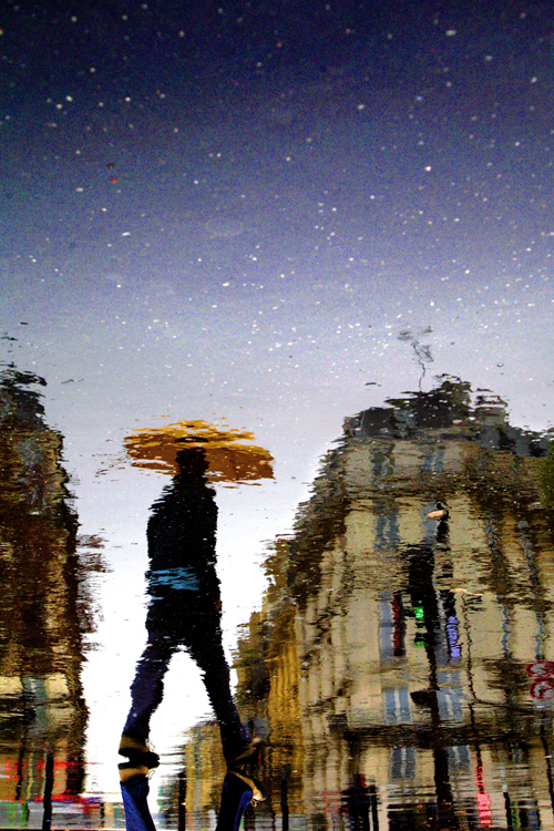 Doctor Ojiplático. Christophe Jacrot. Paris in the Rain