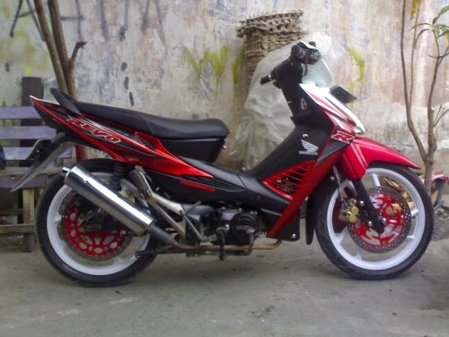 honda revo di modifikasi