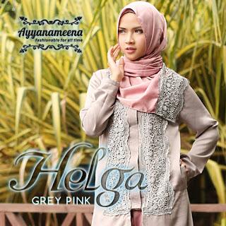Ayyanameena Helga - GreyPink