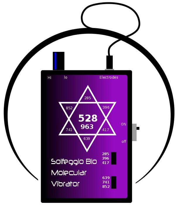 Solfeggio Bio Molecular Vibrator