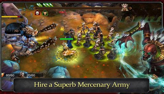 Demonrock: War of Ages v1.05 Apk MOD
