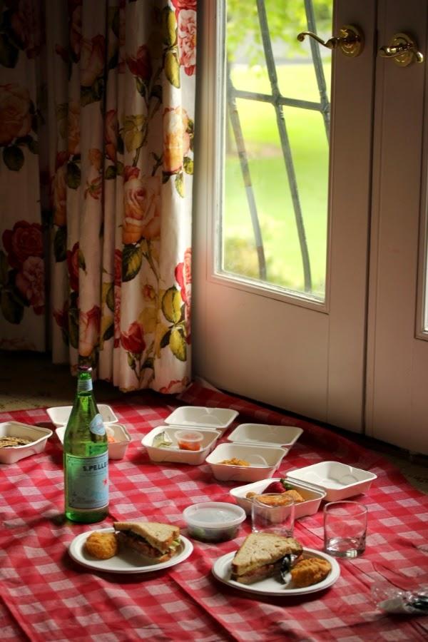 Picnic Indoors #picnic #getaway