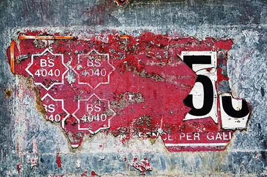 abstract, urban decay, photography, urban, art, pink, grey, orange, black, white,