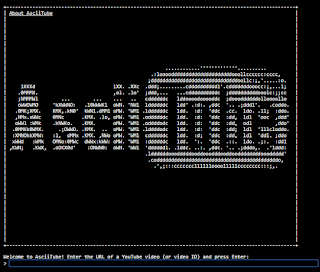 Cara Menonton Video Youtube dengan bahasa ASCII