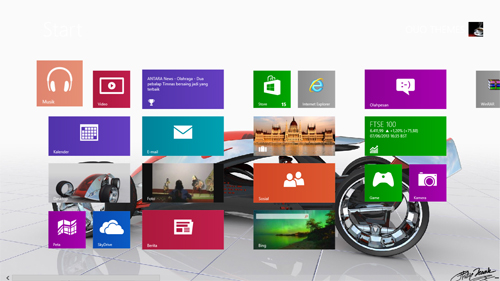 Nike One Concept Theme For Windows 7 And 8