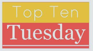 Top Ten Tuesday 9: Mis favoritos en el género de Fantasía