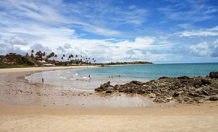 Praia de Tabatinga lado do maceió
