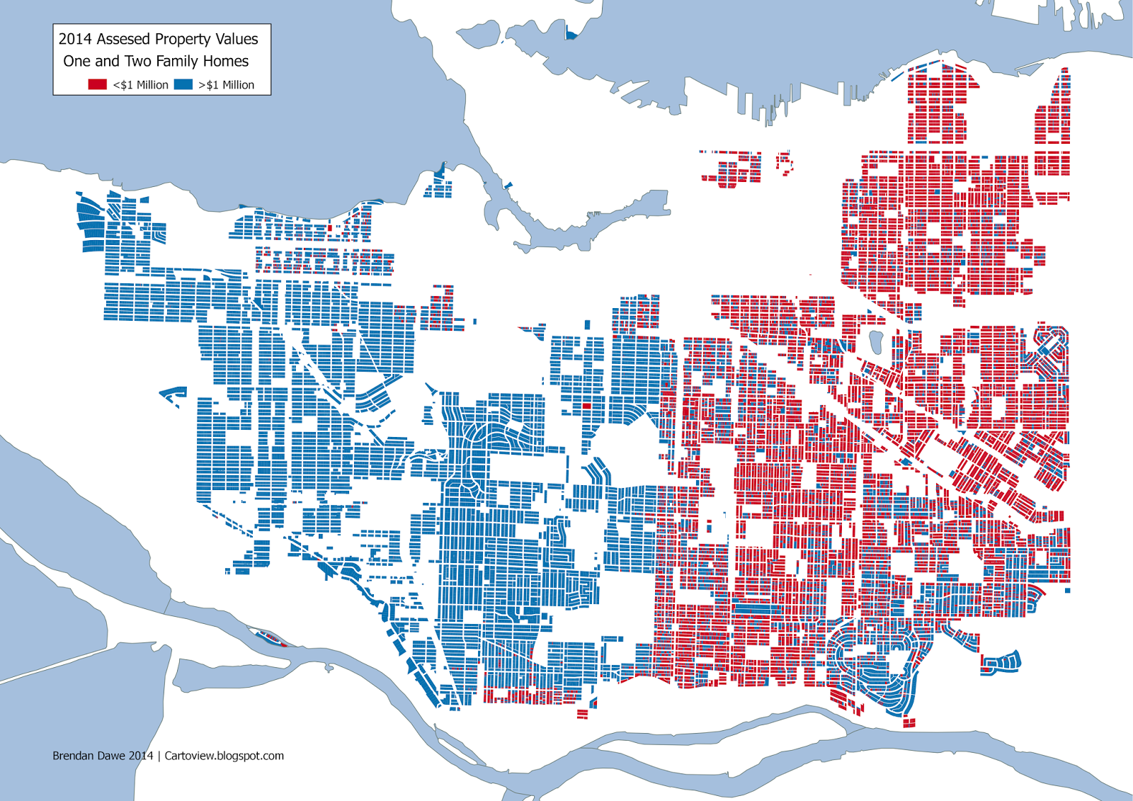 while the quebec street line is not as solid as it once was there is still a noticeable division between east vancouver addresses and west side addresses