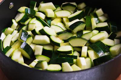 Monster Zucchini and Basil Strata Recipe | Kalyn's Kitchen®