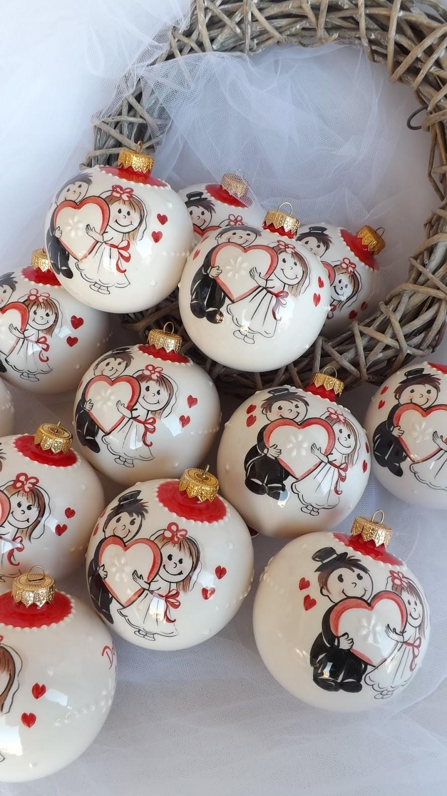 Famoso ceramica come mestiere: Palline di Natale in ceramica come  UJ41