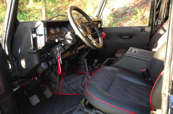 complete restore 1997 land rover defender 90 auto restorationice. Black Bedroom Furniture Sets. Home Design Ideas