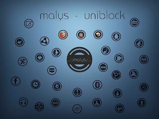 uniblack icons