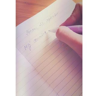 Milý denníček... (alebo- Prečo je dobré písať si denník)
