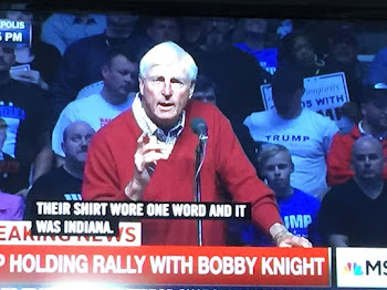 Bobby Knight Throws His Support But No Chair to Trump