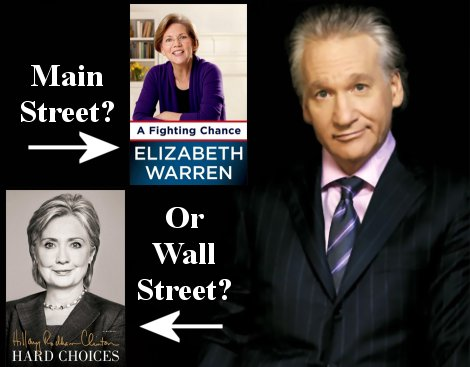 Bill Maher endorses Elizabeth Warren