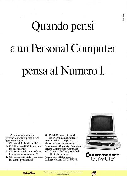 Comodore computer (1983)