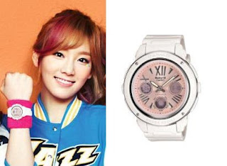 SNSD Taeyeon Casio Baby G Watch Collection
