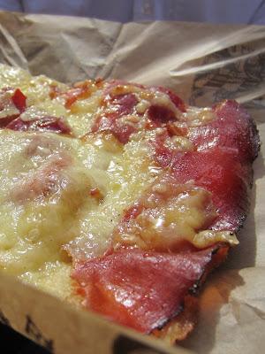 Forno Campo de Fiori, Rome: Prosciutto Pizza
