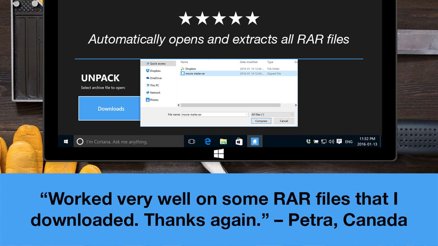 rar file opener for android free download