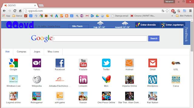Come rimuovere Qqovd.com da pagina iniziale da Google Chrome, Mozilla Firefox e Internet Explorer