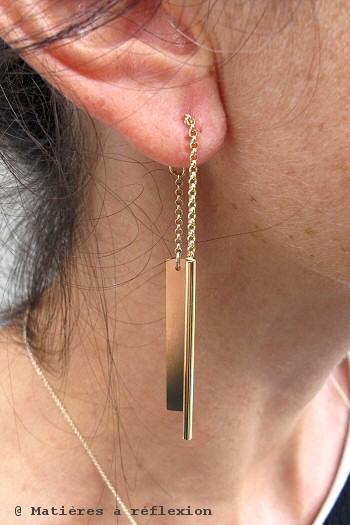 Boucles d'oreilles Médecine Douce Bijoux