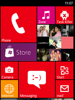 WP8-Monochromatic 6.0 ACCEND custom Rom