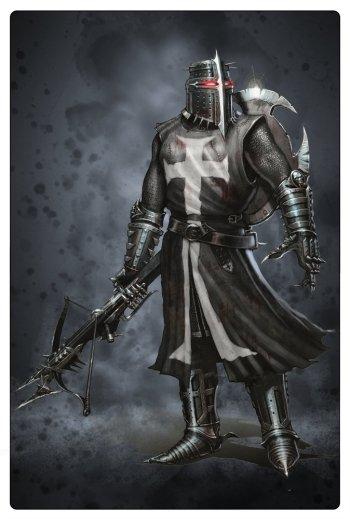 Concept art del juego Dark Watch