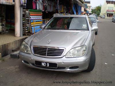 Silver colour Mercedes S Class