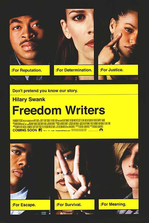freedom writers character analysis A review of the movie 'the freedom writers' show less reply 1 abraham froman8 years ago to sir with love mrtibbs was poitiers character in in the heat of the night read more show less reply 1 sepero110 years ago i just noticed you really like to say goolags lol read more show less.