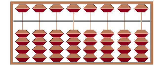 how to use a chinese abacus to multiply