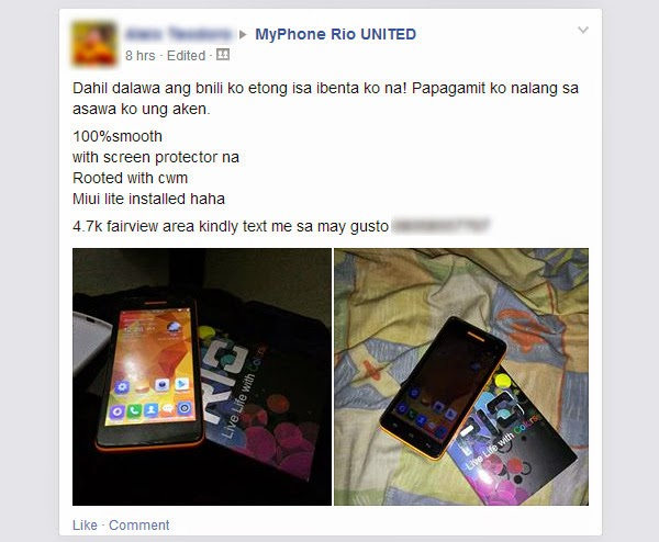 Advantages and Disadvantages of MyPhone Rio