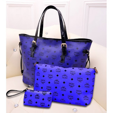 MCM FASHION BAG (BLUE)