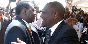Raila Drove Himself To Ruto's Meeting In A Pajama ??