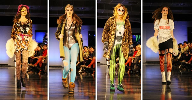 Value Village Presents Thrift Chic Challenge Dandi Wind EFW07, Eco Fashion Week, Runway Show
